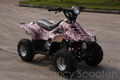 FancyScooters bike using this part: ATV501C-110cc/CPSC: Peace Mini  Dinosaur ATV (110cc) Camouflage with Front Hand/Rear Hand Brake