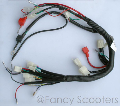 PART08177: TPATV 501 /CPSC Whole Wire Harness (70cc to 110cc)