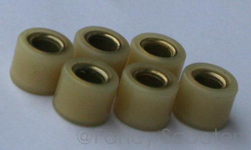 PART07M015: 50cc Variator Roller Set (Diameter=16mm, Width=13mm) 9g