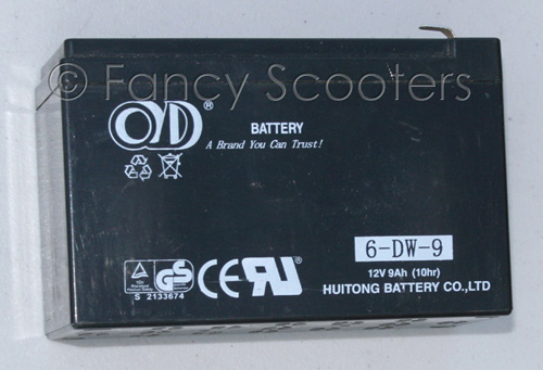 PART03023: Battery 6-DW-9 (12V 9AH)