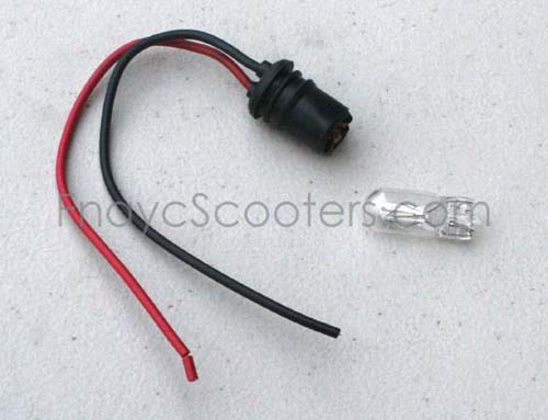 40V 10W Light Bulb WITH ONE DOT for electric Scooters PART13015