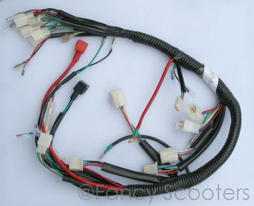 2 STROKE STAND UP Gas Scooter Whole Wire Harness C 43CC 49CC