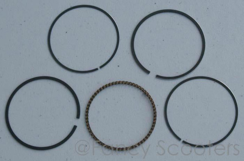 CG 200cc Engine Piston Ring Group (Air/Water Cool)