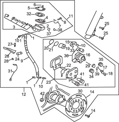 Moped Brake Switch