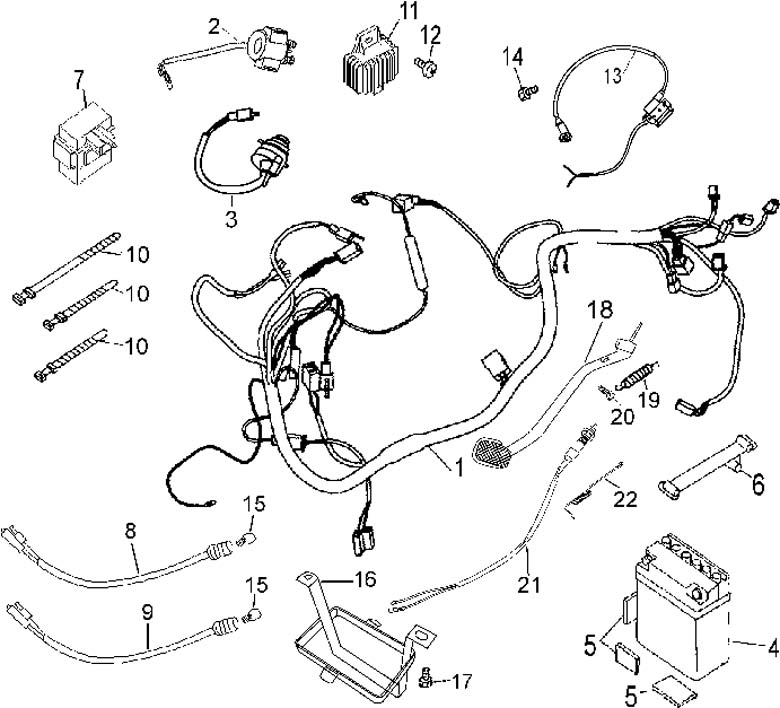 49cc pocket bike wiring diagram  parts  wiring diagram images